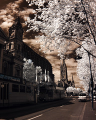 swanston st small (beleobus) Tags: ir 300d infrared