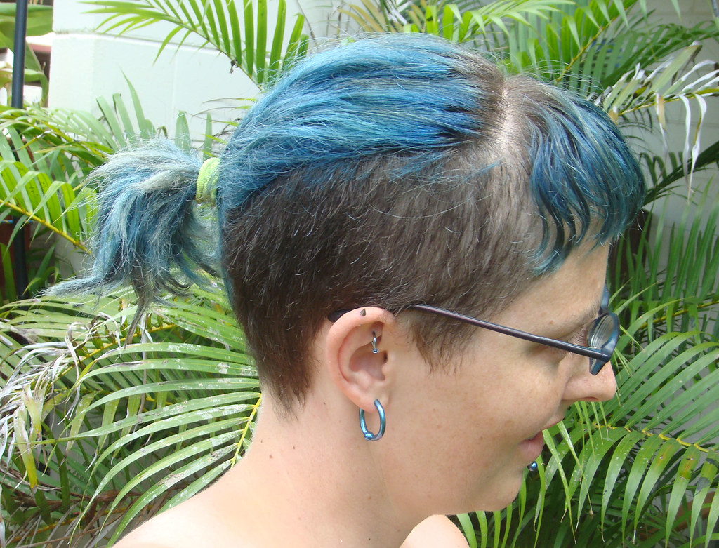 The worlds most recently posted photos of ponytail and undercut trying to fade my hair its a slow process goatsfoot tags urmus Images