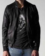 Фото 1 - Кожаный пиджак от Ksubi