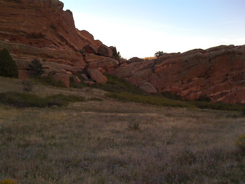 Hiking at Red Rocks ahead of Michael McDonald's September 23, 2008 Performance