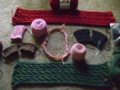 Christmas Knitting 10-09-08