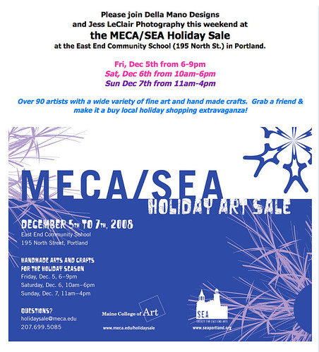 MECA Holiday Sale