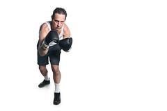 the veteran (poopoorama) Tags: washington nikon sigma boxer boxing kirkland d300 amazeentertainment strobist 1850mmf28exmacrohsm
