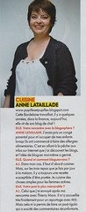Anne Lataillade - CLassement Elle / Cuisine
