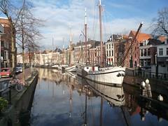 20081214 02 Groningen - Lage der A (jack_of_hearts_398) Tags: 2008 winter groningen stad lage der hoge toeristen brug schepen schip mars
