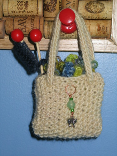 Knitting bag Ornament