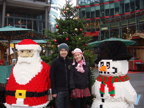 Lego Santa Claus and A Snowman