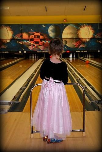 Bowling in tutus