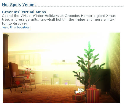 Winterfaire Hot Spots - Greenies' Virtual Christmas