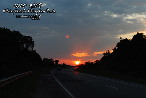 Solo Ride™ #7 : Sunset OTW Home