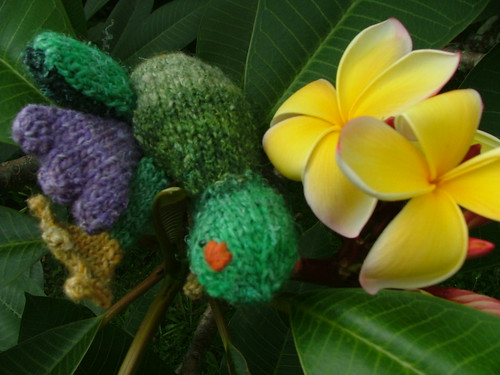 Knit Frog