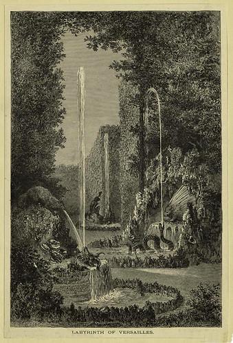 010-Laberinto de los jardines de Versallles 1882