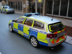 Cambridgeshire Police VW Passat Estate Newshape Road Policing Unit (alan215067code3models) Tags: road vw estate police passat cambridgeshire unit policing newshape