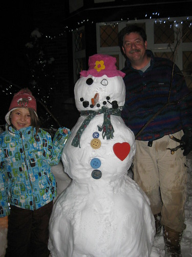 Jenny and Mike's Snowman