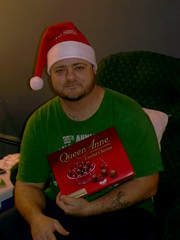 DAD WITH SWEET TOOTH (chaz71) Tags: christmas xmas baby mike joe presents chuck