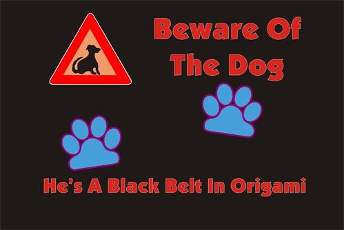 Beware Origami 01
