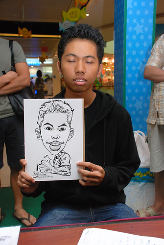 Caricature live sketching for Marina Square Day 2 - 20