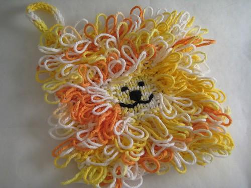lion washcloth or blanket