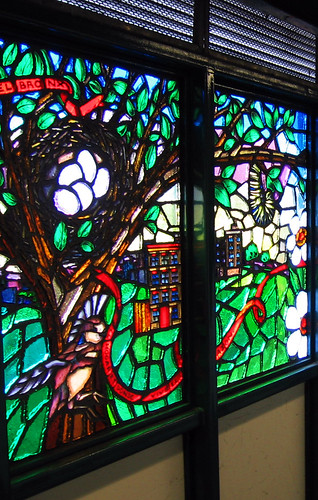 167th - Stained Glass Close