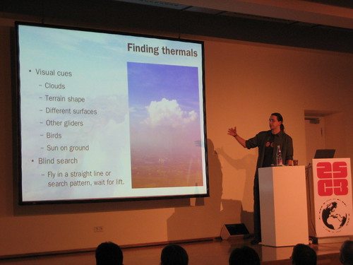 Hacking the atmosphere: Finding thermals