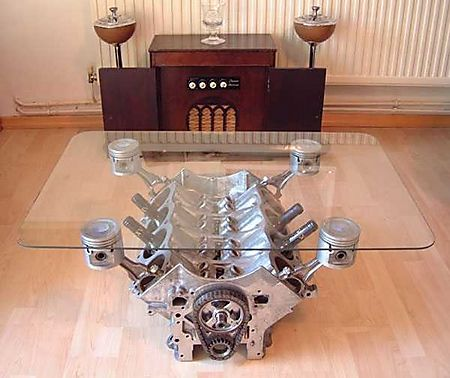 National Speed - V8 Coffee Table