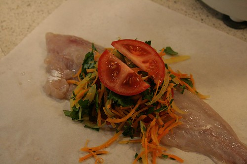 Mørksej - steamed fish