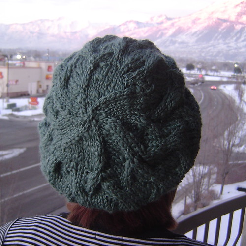 knitting lemonade: Star-Crossed Slouchy Beret