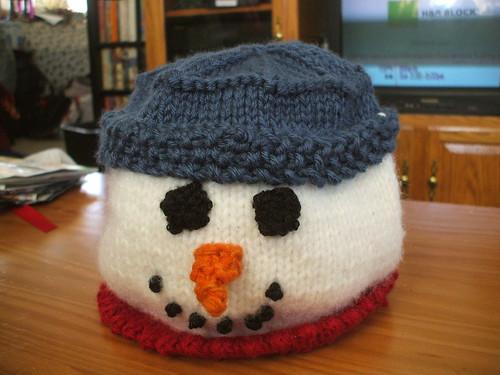 grace's snowman cozy