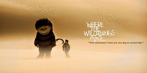 Where The Wild Things Are poster desierto
