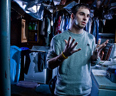 This is why... (Petey Photography   fortysixtyphoto.com) Tags: basement clothes laundry alienbee day17 washing alienbees xti b800 strobist canon400d peteyphotography wwwpeteyphotographycom