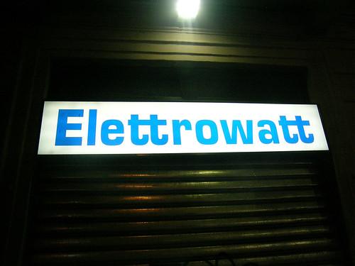 Aldo Novarese · Eurostile · 1962 | Elettrowatt
