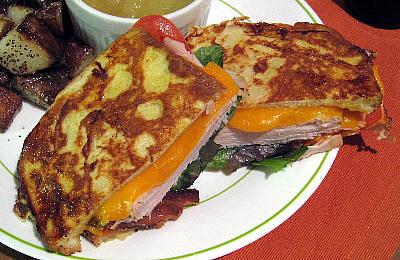 Monte Cristo Club Sandwich