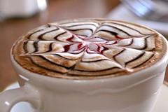 (Lady Angela) Tags: coffee fantasia espresso latte cappuccino fiore ristorante crema disegno caffe spirale aroma tazza panna cioccolata creativita