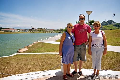 Mom, Me and Jean at Desa Park City