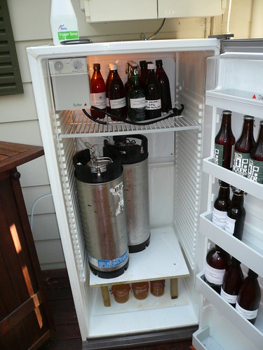 The Might Kegerator!