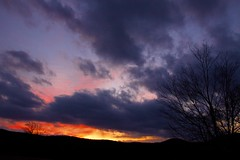 Blue Ridge Sunset (Ken Yuel Photography) Tags: sunset virginia sunsets blueridgemountains blueridgeparkway bluegrassmusic floydcounty floydva omot saintbridge theperfectphotographer digitalagent kenyuel toetappingmusic