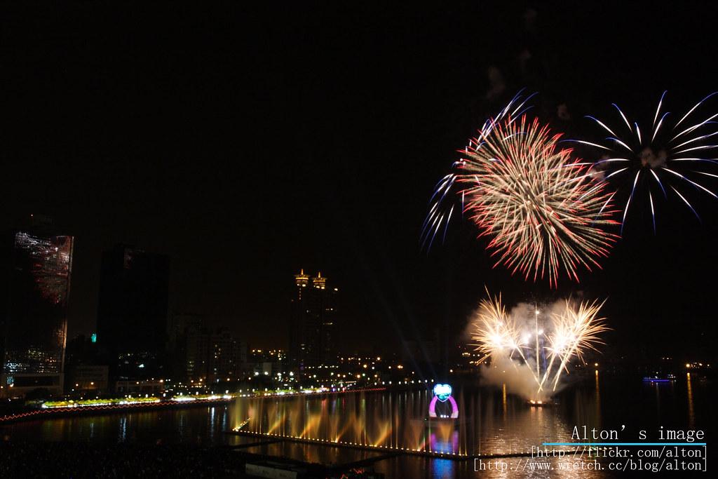 2009高雄燈會煙火