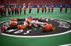 Halftime In Giants Stadium (Joe Shlabotnik) Tags: giantsstadium meadowlands 1997 faved november1997 princetonband
