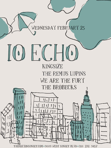 IO Echo/Kingsize/The Remus Lupins/We Are The Fury 2/25