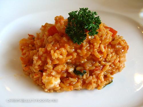 La Giara 螯蟹干貝海鮮燉飯