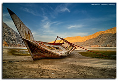 Old'n Rusty (DanielKHC) Tags: abandoned boat interestingness dusk explore wreck oman fp frontpage hdr d300 musandam khasab tonemapped outstandingshots explore19 danielkhc explorefp gettyimagesmeandafrica1