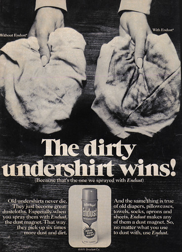 Vintage Ad #761: The Dirty Undershirt Wins!