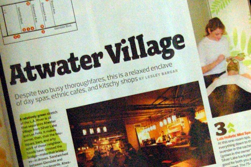 Atwater Village in LA Mag