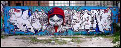 By DEM189, SETH (90DBC-LBD) (Thias (-)) Tags: terrain streetart paris monster wall painting graffiti seth mural spray urbanart painter marianne graff aerosol dem bombing spraycanart lbd pgc thias photograff frenchgraff 90dbc photograffcollectif dem189