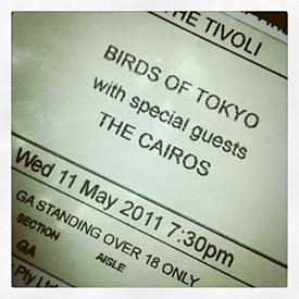 Birds of Tokyo @ The Tivoli Theatre