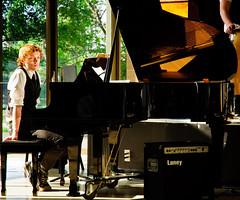 Piano (Blake Coble) Tags: musician music reflection nikon piano jazz player d90 savedbythehotboxuncensoredgroup