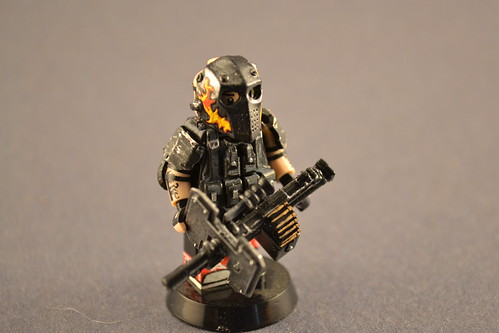 Custom minifig Army Of Two....ish