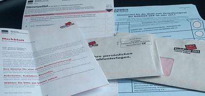 Sozialwahl 2011 - 2