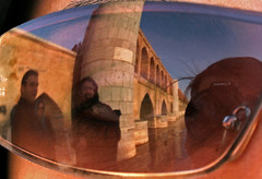(matiya firoozfar) Tags: bridge reflection eye canon persian eyes iran d persia gathering iranian esfahan isfahan sloped arezu 33pol alirezanajafian mahru canon400d matiya hamzehkarbasi matiyafiroozfar