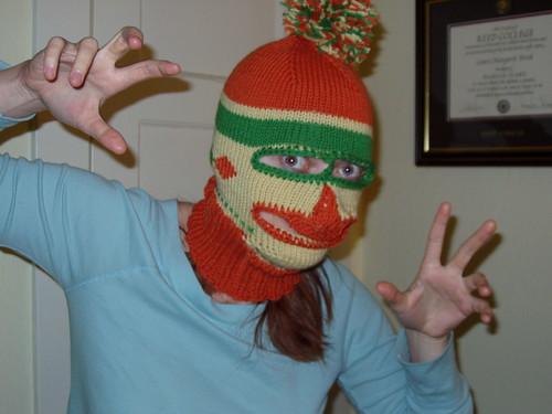 Scary Mask Finished